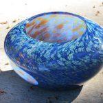 blown glass nest bowl