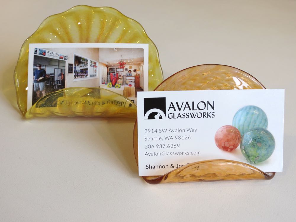 Business Card Holders - Seattle Art Glass Gallery & Glass Blowing ...