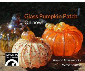 Art Glass Pumpkin Patch on Now
